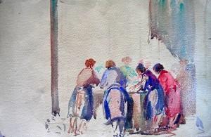 les bonnes femmes au lavoir