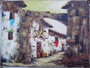 Bleu et rouge aux fenêtres...! dans illustration village-arche-et-vetement-bleu-et-rouge-aux-fenetres-300x227