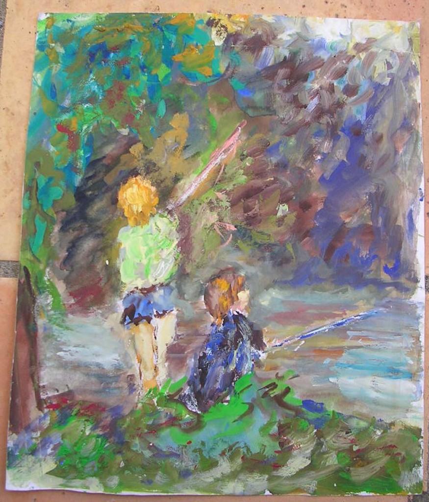Artistes inconnus ou pas connus voire connus peintres for Artistes peintres connus