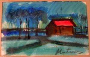 la cabane au bord de la rivière