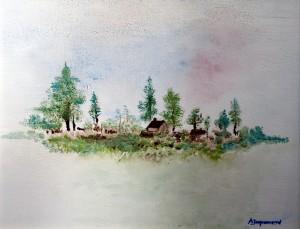 le paysage (verso 2010)