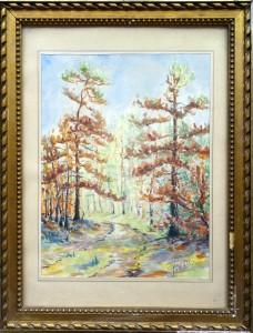 tableau aquarelle