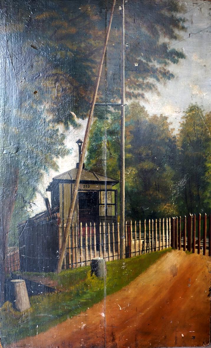 Artistes inconnus recherche d informations - Peinture bois sur fer ...