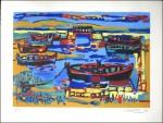litho les barques 1960