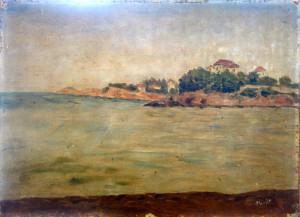village sur la côte