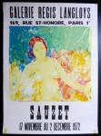 affiche-lithographique-d-expo-claude-sauzet-ne-1941-galerie-langloys-1972