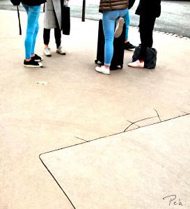 carré de l'hypoténuse au pied levé copier