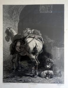 A. Mouilleron, Lith Stevens, pinx