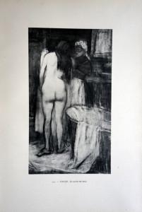 119 - Jean-Louis Forain (1852 -1931) La sortie du bain
