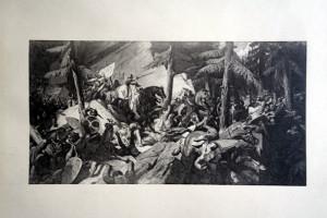 12 - Paul Delaroche (1797 - 1856) Charlemagne traversant les Alpes