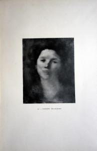 16 - E. Carrière (1849 - 1906) Tête de femme
