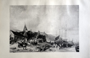 25 - Eugène Isabey (1803 - 1886) Le cabestan