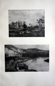 26 27 - Albert Lebourg (1849 - 1928) La rivière et vue de Rouen