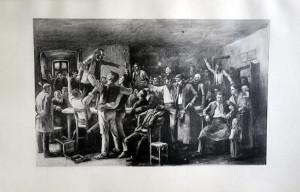 33 - Mihali Munkacsy (1844 -1900) La grève