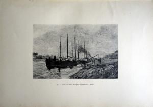 37 - Armand. Guillaumin (1841 - 1927) Le Quai d'Austerlitz; mars
