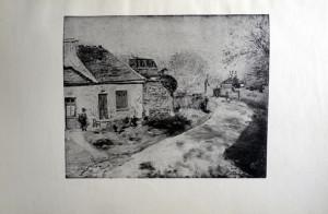 37 - Auguste Renoir (1841 - 1919) Provende de poules