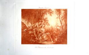 4 - François Boucher (1703 - 1770) Les Charmes du printemps