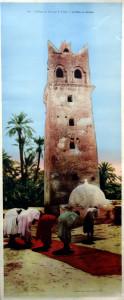 4014 - L'Afrique du Nord par R. Prouho. La prière au Marabout. COMBIER IMP. MACON CIM