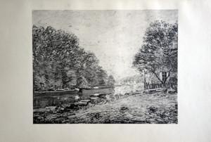 42 - Alfred Sisley (1839 - 1899) Tournant du loing