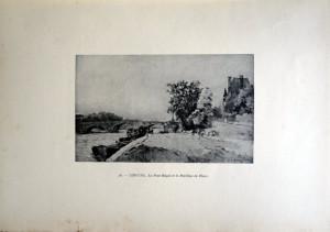 46 - Albert Lebourg (1849 - 1928) Le Pont Royal et le Pavillon de Flore
