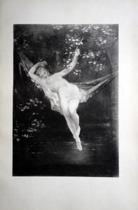 48 - Octave Tassaert (1800 - 1874) Sarah la baigneuse