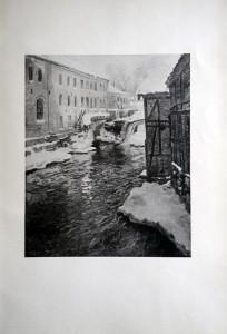 49 - Frits Thaulow (1847 - 1906) Effet de neige