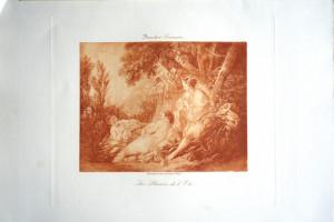 5 -  François Boucher (1703 - 1770) Les Plaisirs de l'été
