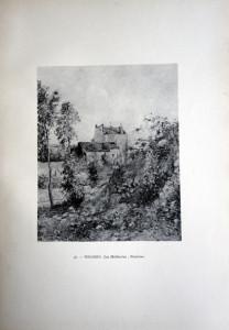 56 - Camille Pissarro (1830 - 1903) Les Mathurins; Pontoise