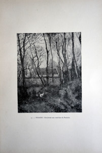 57 - Camille Pissarro (1830 - 1903) Une ferme aux environs de Pontoise