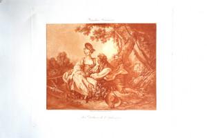 6 - François Boucher (1703 - 1770) Les Délices de l'automne