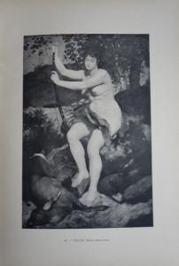 68 - Auguste Renoir (1841 - 1919) Diane Chasseresse