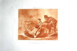 7 - François Boucher (1703 - 1770) Les Amusements de l'hiver