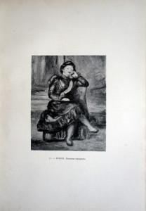 71 - Auguste Renoir (1841 - 1919) Danseuse espagnole