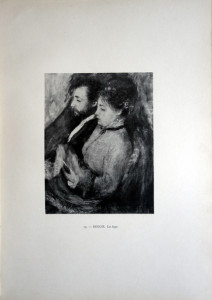74 - Auguste Renoir (1841 - 1919) La loge
