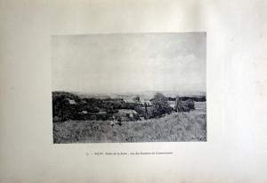 77 - Alfred Sisley (1839 -1899) Vallée de la Seine; vue des hauteurs de Louveciennes