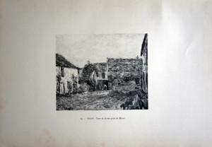 79 - Alfred Sisley (1839 -1899) Cour de ferme prés de Moret