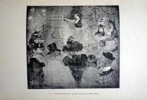 81 - Henri de Toulouse-Lautrec (1864 - 1901) La danse mauresque au Moulin Rouge