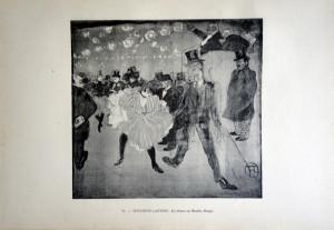 82 - Henri de Toulouse-Lautrec (1864 - 1901) La danse au Moulin Rouge