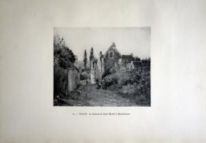 84 - Victor Vignon (1847 - 1909) Le chemin de Saint Michel à Montbuisson
