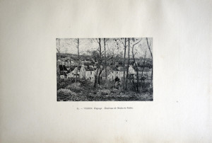 87 - Victor Vignon (1847 - 1909) Paysage; Environs de Nesles-la-Vallée