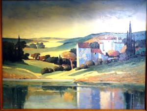 chateau sur Rhône (123 x 93)