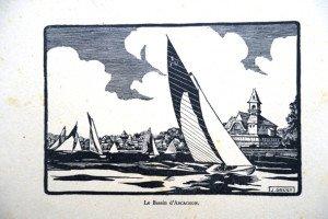 Le bassin d'ARCACHON (format 11 x 16.5)