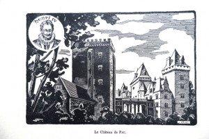 Le Château de PAU - (format 11 x 16.5)