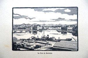 Le Port de BAYONNE - (Format 10 x 15)