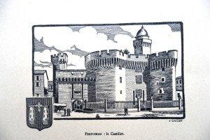 PERPIGNAN - le Castillet (format 10 x 15)