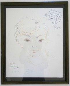 papier crayon couleur format 45 x 36.5 signé daté 10 11 1992