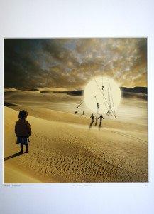 Les Taches solaires - format photo 28 x 28 -  N° sur la marquise 984 - Edition limitée 5000 ex Monde