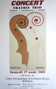 affiche 2005 - 55x35