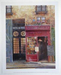 Hotel de Paris - 2002 - Format 26.5x21 sur 30x24
