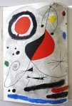 Joan Miro. Lithographie originale  Atelier Maeght - Format pleine page 38x28